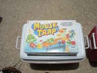 mouse trap game has everything in box $3 text  or