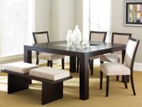 This Movado Dining Room Set Comes With The Table, Four