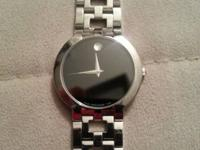 I am selling my Movado watch $200 FIRM. The only thing
