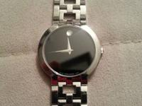 I am offering my Movado watch $250 FIRM. The only thing