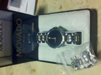 i am selling my genuine movado men's watch with