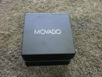 HEY GUYS,   WE ARE NOW SELLING A  MOVADO WATCH IN BOX