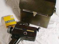 Movie electronic camera 8mm keystone XL100, F:1.1