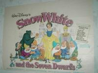 Movie Poster Snow White and the Seven Dwarfs Original