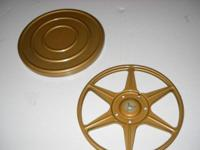 Metal film reels with cases • 7 inch and 5 inch