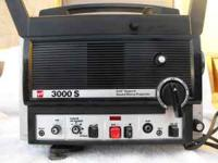 GAF Super 8 Sound Movie Projector Will run Super 8 or