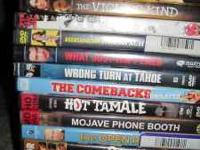 34 movie titles Take them all for $30. Kerry  Location: