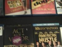 Anchorman1 +2 bluray combo pack Act of Valor bluray