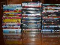 Tons of movies! Kids, adults, mens, womens, action,