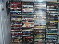 Over 500 Dvd's All Great titles $ 3 ea or $1.50ea if