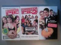 Clint Eastwood Set - VHS - $20 American Pie Set - VHS -
