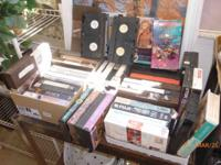 VHS Movies, 62 total, oldies but goodies, some exercise