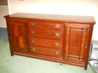 Beautiful solid furniture. Moving, must sell, already