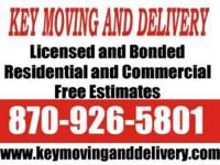 We offer moving, delivery, and Courier services in the