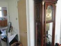Several miscellaneous items for sale. Grandfather is