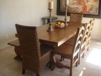 Items we are selling: Spanish Revival Dining Set $950