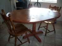 Matching Coffee table w/2 in tables dark wood $35 obo