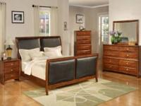 THIS BEAUTIFUL SOLID WOOD BEDROOM SET IS AVAILALE IN