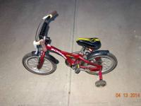 Selling a slightly used Schwinn Toddler bike with