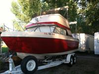1978 Bayliner Nisqually. 23.5 ft cuddy cabin boat in