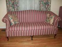 Moving Sale--I have a living room mauve couch and 2