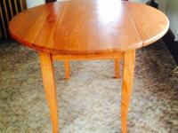 Kitchen area Table - $35.00.  Side/Coffee Table -