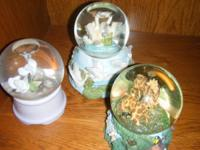 Pottery - $5 Desk $70 Snow Globes - $3/each Large