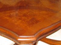 *Gorgeous Italian hand made wood lacquer dining room