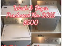 Located in the Douglasville, GA area.. *washer and