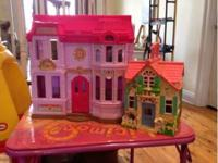 Little Tykes Kitchen $25 Dora table and chair set $20