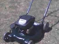 "4.5 HP. 22"" BRIGGS MOWER. RUNS"