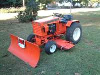 "This is a Case/Ingersoll factory 52"" mower deck for"