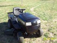 "Murray Riding Mower - 42"" cut- 6 speed, shift on the"