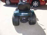 Craftsman riding mower. 42 in. cut, 15.5 Kohler engine