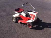 Wizard Holiday 25 Riding Mower. Believe it might be a