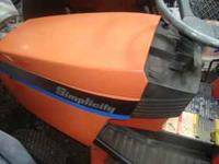 Simplicity Broadmoor Mower 44' Deck Hyrostat Needs new