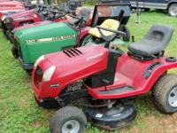 Riding and Push mowers Several to choose from