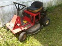 Have 2 riding mower and several push for sale! All need