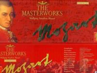 The Masterworks Mozart complete box-set, 40 CD's,