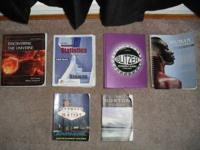 MPC textbooks for sale as priced please call  or email
