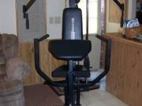 For Sale: MPEX 200lb Powerhouse Fitness System. Great