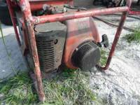 MultiQuip Generator with Kohler engine, engine was