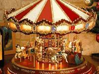 This carousel absolutely delights children during the