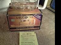 Mr Coffee 10 cup Replacement Decanter TD-10  the unit