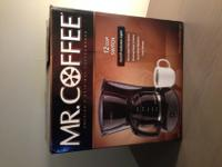 I am selling a Mr. Coffee coffee maker that has been