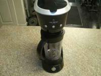 I have a Mr. Coffee cafe frappe maker/ grinder model