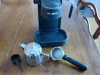 Mr. Coffee espresso machine in perfect working