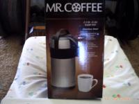 Mr. Coffee Everflow 2.32 Qt. Pump PotFound this at