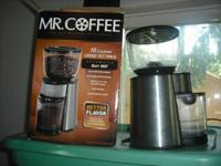 I have a practically brand-new Mr. Coffee mill. I drink