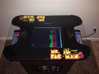 60 in 1 Multicade (iCade) in a classic Ms. Pacman mixed